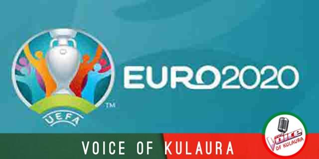 EURO-2020 শেষ ষোলোর নকআউট পর্বের সূচী।