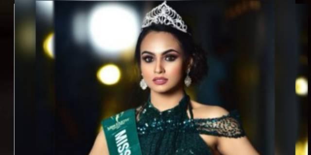 'মিস আর্থ বাংলাদেশ'এর মুকুট জিতলেন নাইমা।